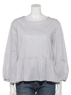 超長綿ローン裾フリルB/S