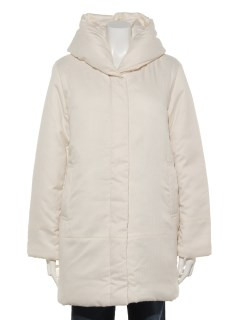【Newlyme】ショールカラー中綿コート