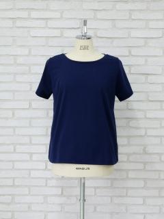 ロゴ刺繍スリーブTシャツ