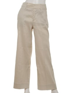 WIDETROUSERS -LUXE LINEN