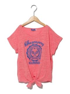 【chummy】前結びカレッジPTTシャツ