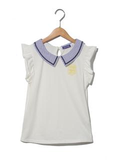 【chummy】衿付きTシャツ