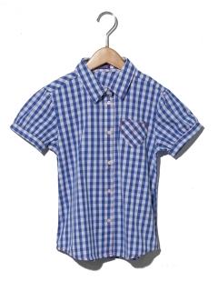 【chummy】ハートポケットチェックシャツブラウス