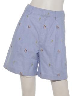 【RonHerman】刺繍ショートパンツ