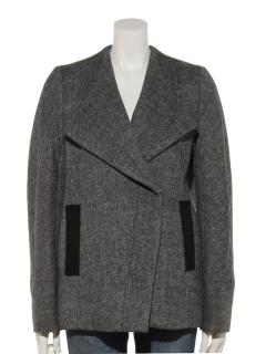 ロースタンドダブルジャケットコート