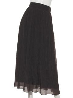 オーガンジーギャザースカート