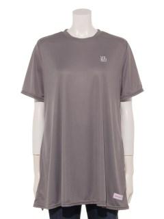 UVブロックフェイスチュニックTシャツ