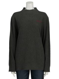UVリブ使いハイネックセーター