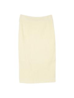 ミディアム丈ニットタイトスカート