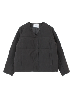 中綿Vネックジャケット