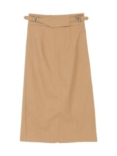 ウエストデザインタイトスカート