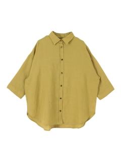 ドロップショルダーオーバーシャツ