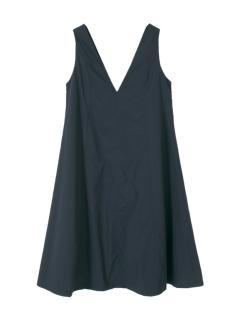 Vネックジャンパースカート/ワンピース