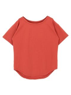 ラウンドネックベーシックゆるTシャツ