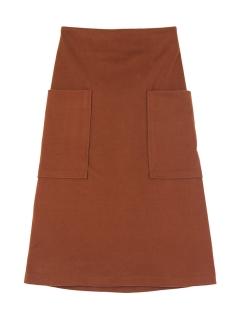 ビッグポケットAラインスカート