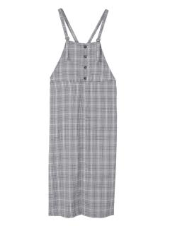 フロント釦キャミソールサロペットスカート