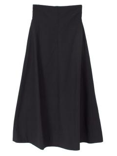 リネンライクフレアマキシスカート