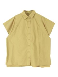 デザイン切替えオーバーサイズシャツ