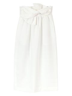 リネンライクベルテッドスカート
