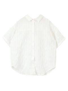 バックリボンオーバーサイズシャツ