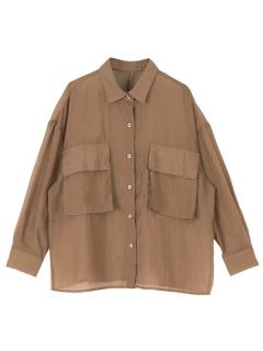 ビッグポケットシアーワークシャツ