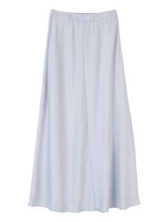 ヴィンテージサテンギャザーマキシスカート