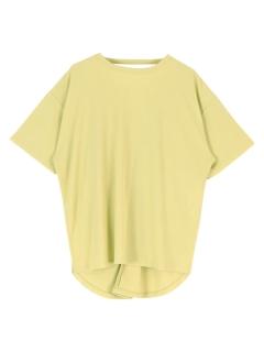 バックツイストカットソーTシャツ
