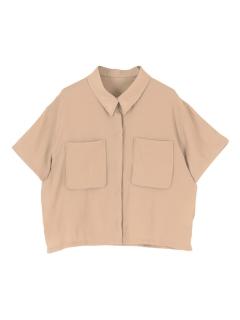 デザインポケット半袖サファリシャツ