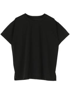 バックロゴ半袖シアーTシャツ