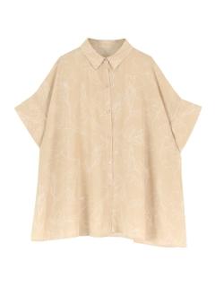 ニュアンスフラワールーズシャツ