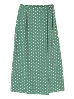 ベルトラップロングスカート