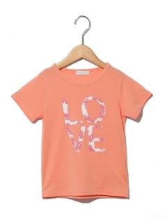 フラワーロゴ半袖Tシャツ