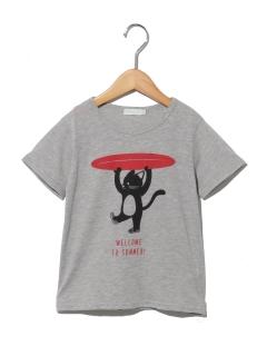 サーフプリント半袖Tシャツ