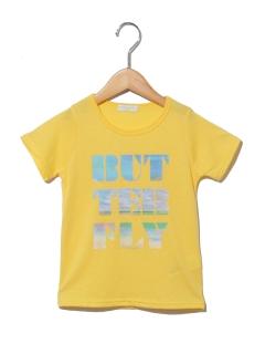 ビーチロゴプリント半袖Tシャツ