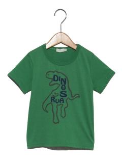 恐竜プリントTシャツ