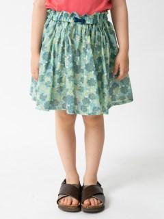 インパンツ付きギャザースカート