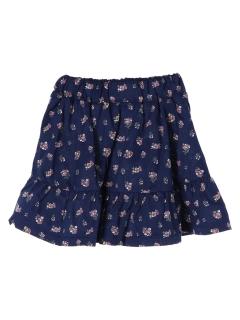 【ILEAIYE】裾フリルスカート