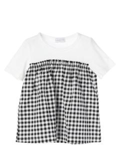 【ILEAIYE】ドッキングTシャツ