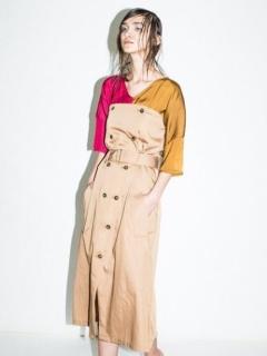 ラップジャンパースカート