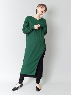 テレコアシンメトリーTシャツ