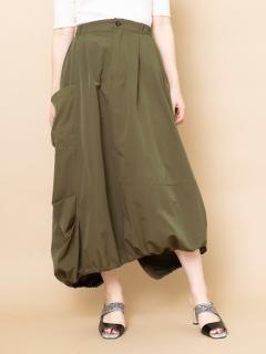 アシンメトリーバルーンスカート