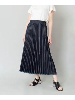 【LOAF】プリーツデニムスカート