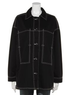 【LOAF】配色ステッチジャケット
