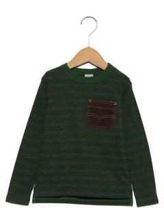 長袖Tシャツ(ボーダー)