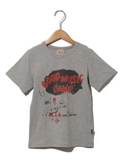 キャンプ柄Tシャツ