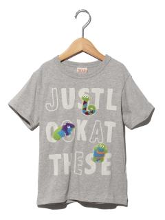 さがらワッペン+ロゴTシャツ