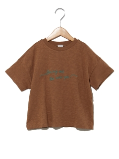刺繍Tシャツ(ワイド)
