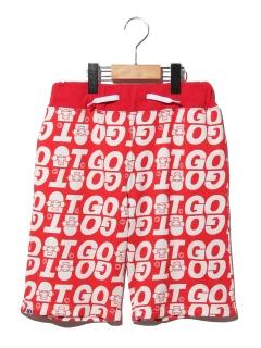 【140サイズ以上~】GOATロゴパンツ5分丈