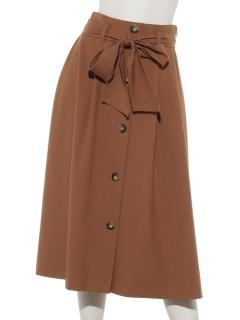 ウエストリボントレンチスカート