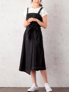 ウエストリボンジャンパースカート